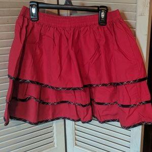 Lands' End Bottoms - Lands End holiday skirt